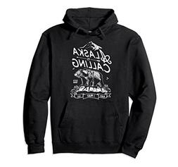 Unisex ALASKA is Calling and I Must Go Hoodie Mountains Men