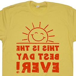 Youth S - This is The Best Day Ever T Shirt Sunshine Tee