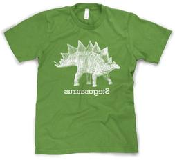 Youth Stegosaurus Graphic T-Shirt Vintage Jurassic Dinosaur