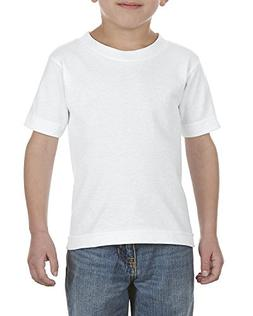 Alstyle Apparel AAA Big Kids' Youth Classic T-Shirt, White,
