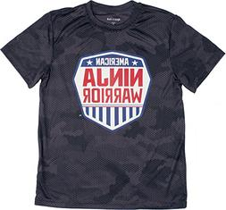 American Ninja Warrior Kids Camo Short Sleeve Performance T-