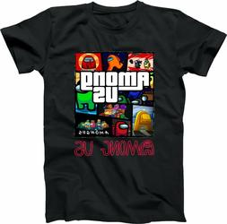 AMONG US  !!- Imposter? - Video Game Friends Custom T-SHIRT