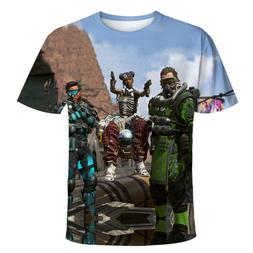APEX LEGENDS TSHIRT 3D PRINTED CAUSTIC LIFELINE MIRAGE