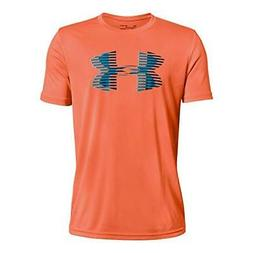 Under Armour Apparel Boys Tech Big Logo Solid T-Shirt- Pick