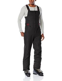 Arctix Men's Athletic Fit Avalanche Bib Overall, Black, X-La