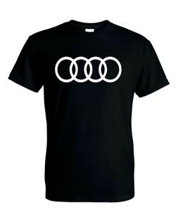Audi Logo  T-Shirt Mens and Youth S-XL Sizes