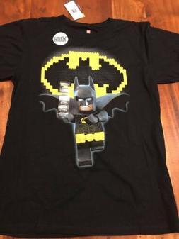 Lego Batman Youth X-Large Boys Girls Black T-Shirt New