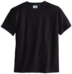 Russell Big Boys' Youth Nublend T-Shirt, Black, Small