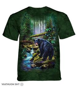 """Black Bear Forest"" The Mountain Classic T-Shirt - Child and"