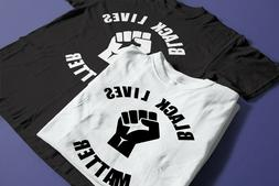Black Lives Matter/I Can't Breath/Shirts against Racism/Blac