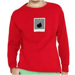 Bomb Nerdy Chemistry Geek Novelty Graphic Youth Long Sleeve