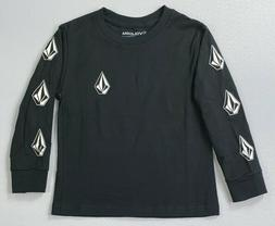 Boy's Little Youth Volcom Deadly Stones Cotton Long Sleeve S