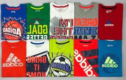 Boy's Little Youth adidas The Go-To Tee Sleeveless Shirts