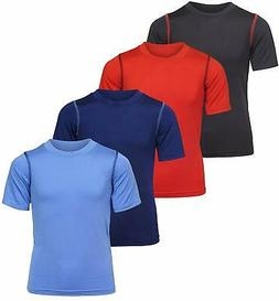 Black Bear Boy's Performance Dry-Fit T-Shirts , Dry Fit Tech