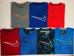 Boy's Youth Nike Pro Cool Dri-Fit FITTED Shirt