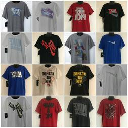 NIKE BOY'S YOUTH T-SHIRTS SMALL  MEDIUM  LARGE  XL