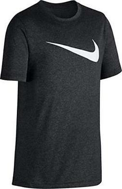 NIKE Boys' Dri-Fit Training T-Shirt - Young Athletes Swoosh