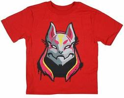 boys fortnite drift t shirt red youth