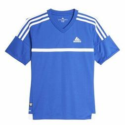 Adidas Boys MLS 15 Match Jersey T-Shirt Bold Blue Size Youth