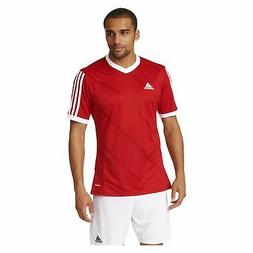 Adidas Boys Tabela 14 Jersey T-Shirt Red/White Size Youth