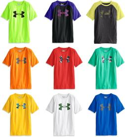 Under Armour Boys' Tech Big Logo T-Shirt, 25 Colors