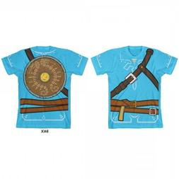 BOYS Tee Legend of Zelda Breath of the Wild Cosplay Tunic T-