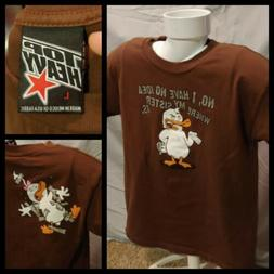 Boys Youth 2006 TOP HEAVY Brother Sister Abuse Duck Brown Te