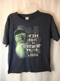 Boys Youth Size Large Duck Dynasty Graphic Tee Shirt