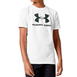 Under Armour Boys Youth Sportstyle Short Sleeve Sports T-Shi