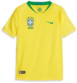 NIKE 2018-2019 Brazil Home Football Soccer T-Shirt Jersey
