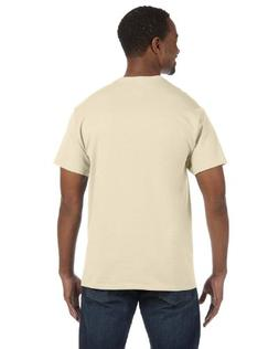 Hanes by Tagless T-Shirt_Natural_L