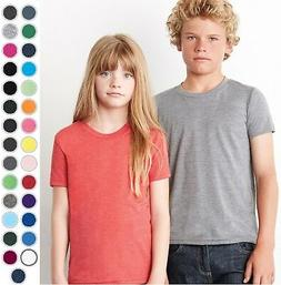 c3001y canvas youth unisex jersey tee tshirt