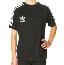 Youth Adidas Originals J TRF California Tee T-Shirt - Black