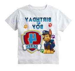 CHASE Paw Patrol CUSTOM t-shirt PERSONALIZE Birthday gift, C