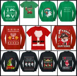 Christmas Funny Ugly Sweater T-Shirt / Long Sleeve Kids Yout