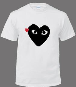 Comme-des-garcons Youth & Unisex CDG T-Shirt Custom, Mens Wo