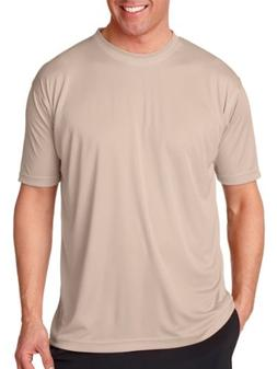 UltraClub mens Cool & Dry Sport Performance Interlock Tee-SA