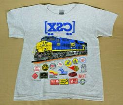 CSX Heritage Railroad T-Shirt Youth and Adult