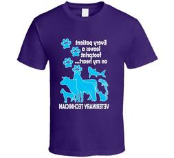 Cute Animal Unisex T Shirt Veterinary Technician Fun Clothin