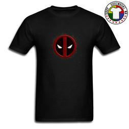 Deadpool Symbol Logo <font><b>Youth</b></font> T Shirt Black