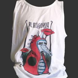 DINOSAUR JR PUNK ROCK T-SHIRT pixies sonic youth VEST TOP S