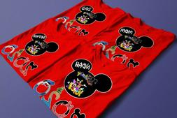 Disney 2020 Customized shirts/Add Names to your Shirts for G