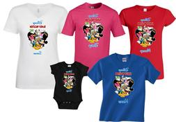 DISNEY FAMILY VACATION T-SHIRTS WITH custom NAMES mickey and