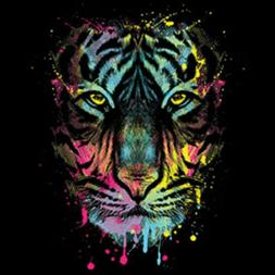 Dripping Tiger Size Youth Small-6 X Large T Shirt Pick  Size
