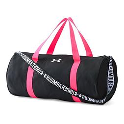 Under Armour Girls' Favorite Duffle, Black /White, One Size