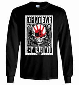 Five Finger Death Punch Shirt American Heavy Metal Rock Men