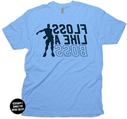 Floss Like a Boss Backpack Dance Gaming T-Shirt & Stickers A