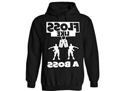 fresh tees Floss Like A Boss Youth Hoodie