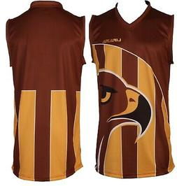 Football Shirts Youth Adults Size Footy Singlet Teams Jersey