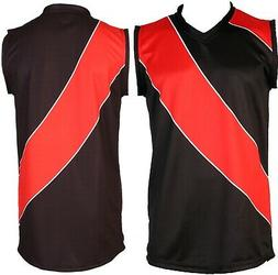 Football Shirts Youth Adults Size Footy Singlet Jersey Sport